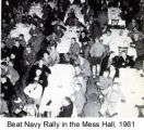 Beat Navy Rally in the Mess Hall
