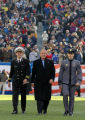 President Bush Escorted to Mid-Field