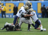 Navy Makes a Tackle