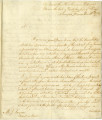 [Letter] 1779 November 11, on board the Bon homme Richard's Prize the late British Ship of War...