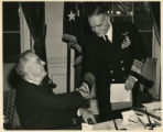 President Roosevelt Adds Another Medal to Admiral Halsey's Long List