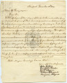 Citizens of Newport Letter to Oliver Hazard Perry