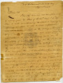 Oliver Hazard Perry Letter to William Henry Harrison